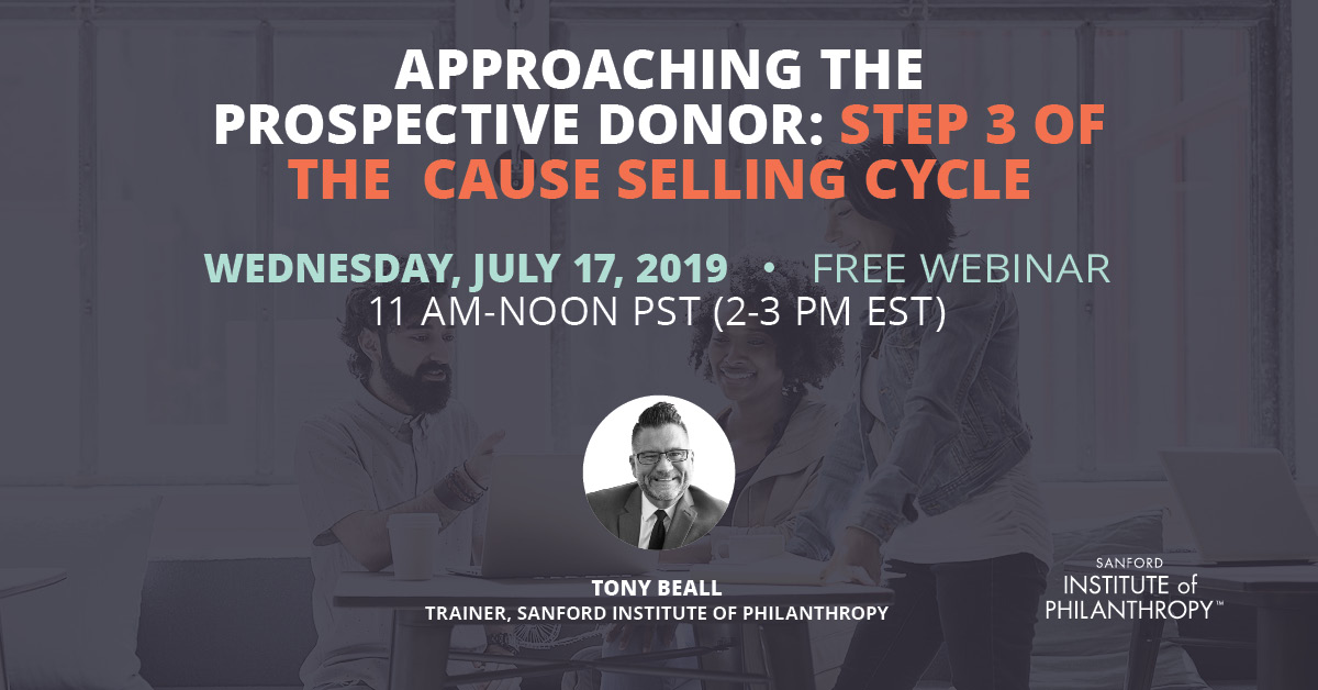 Approaching the Prospective Donor: Step 3 of the Cause Selling Cycle