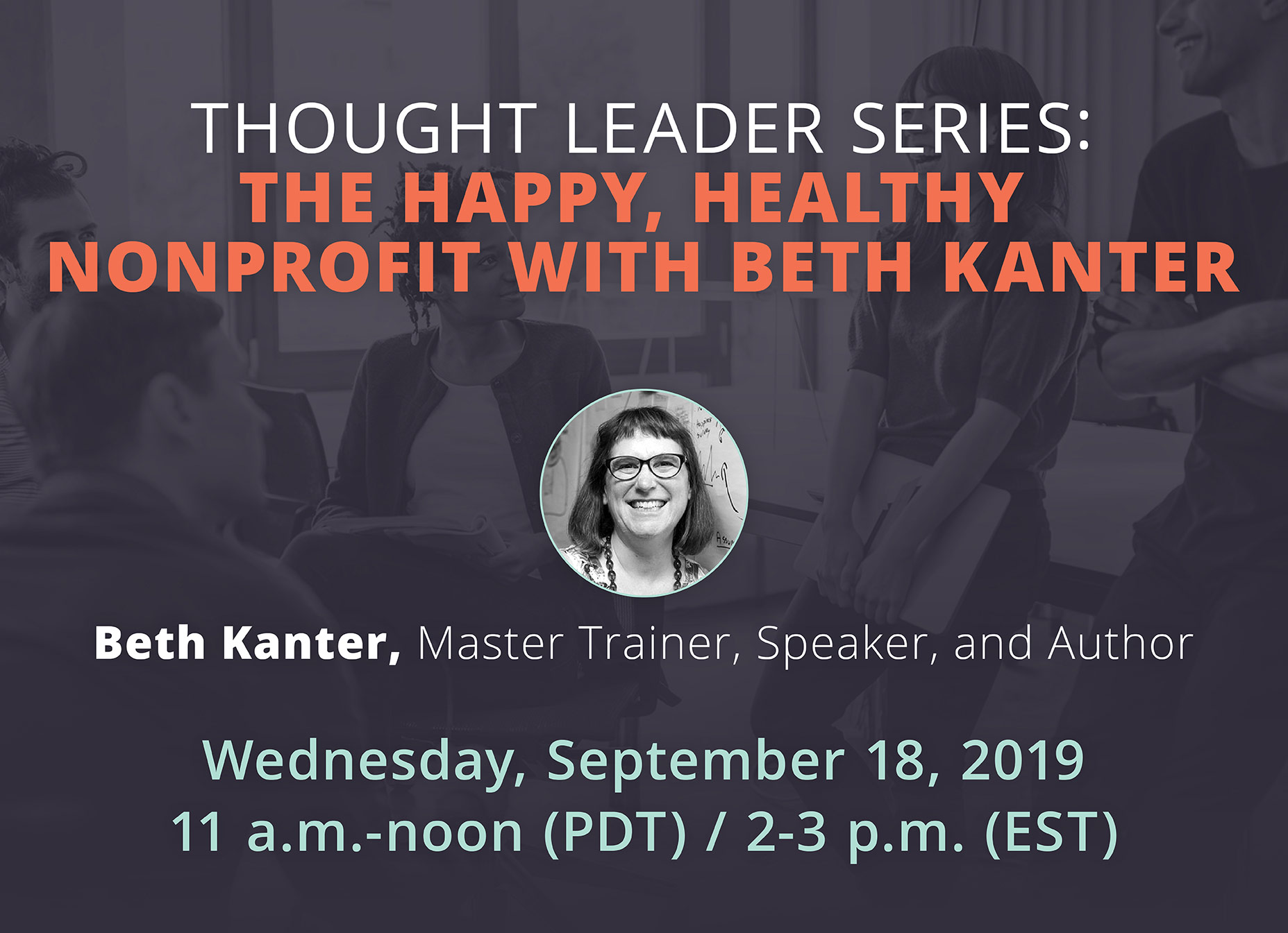 The Happy, Healthy Nonprofit with Beth Kanter