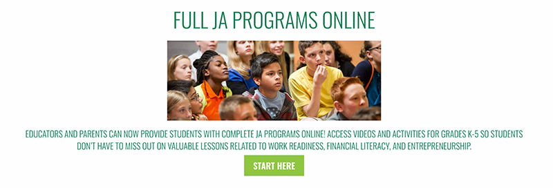 Junior Achievement of Arizona offers online classes to students
