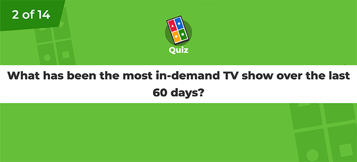 Kahoot Trivia Question